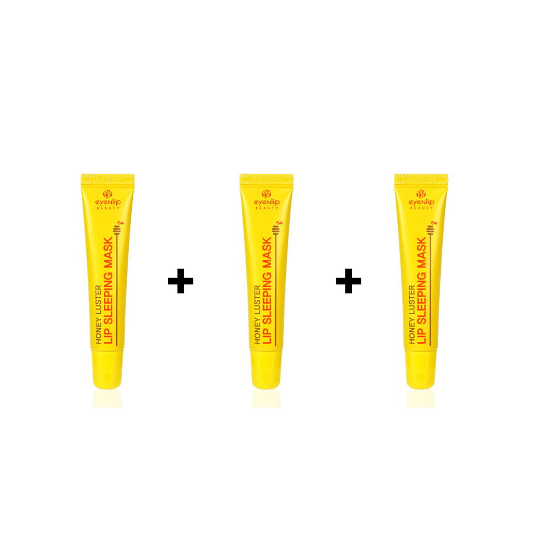 HONEY LUSTER LIP SLEEPING MASK 3 PIEZAS/ MASCARILLA NOCTURNA PARA LABIOS