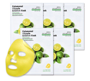 CALAMANSI VITAMIN SOLUTION MASK / MASCARILLA CON VITAMINA C
