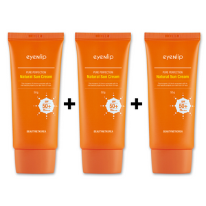 PURE PERFECTION NATURAL SUN CREAM 3 PIEZAS / CREMA SOLAR HIDRATANTE (SPF50+/PA+++)