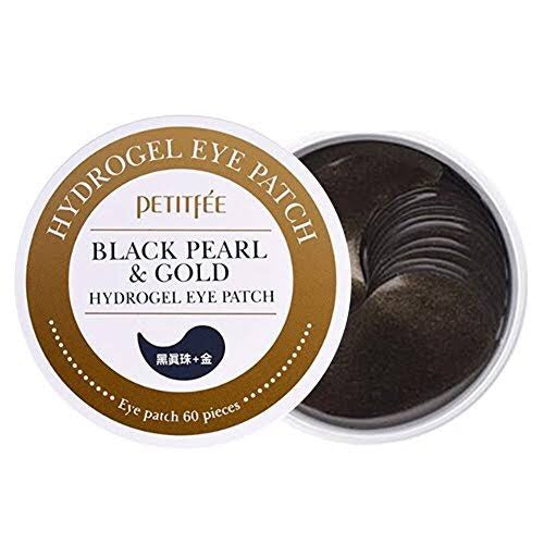 BLACK PEARL & GOLD HYDROGEL EYE PATCH  / PARCHES PARA OJOS