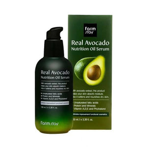 REAL AVOCADO NUTRITION OIL SERUM / SUERO DE ACEITE NUTRITIVO DE AGUACATE