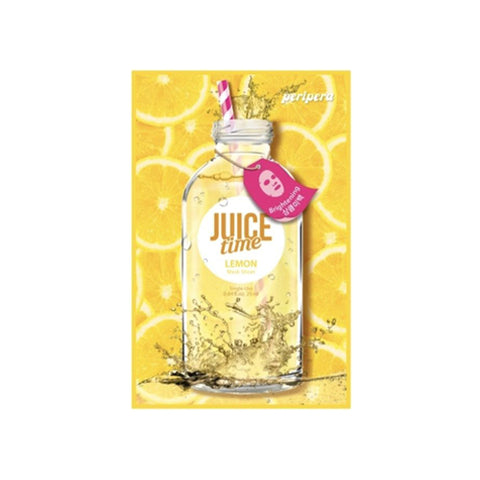 JUICE TIME MASK SHEET LEMON/ MASCARILLA ILUMINADORA