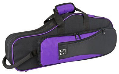 Kaces Lightweight Hardshell Alto Sax Case, Purple