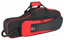 Kaces Lightweight Hardshell Alto Sax Case, Red