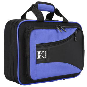 Kaces Lightweight Hardshell Clarinet Case, Blue