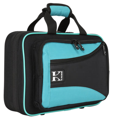 Kaces Lightweight Hardshell Clarinet Case, Teal