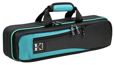 Kaces Lightweight Hardshell Flute Case, Teal