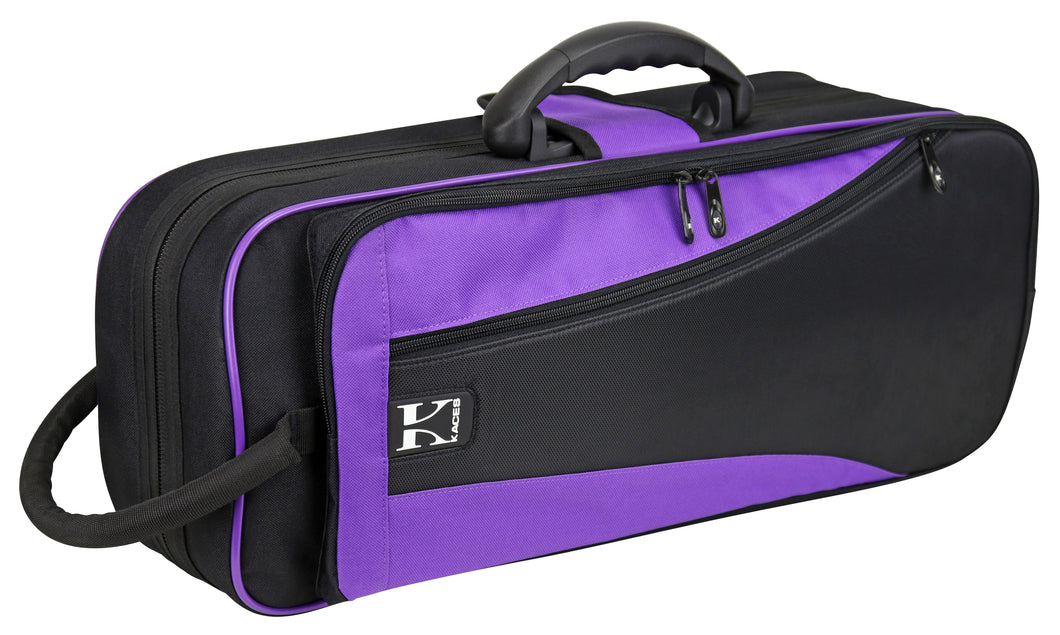 Kaces Lightweight Hardshell Trumpet Case, Purple