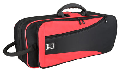 Kaces Lightweight Hardshell Trumpet Case, Red