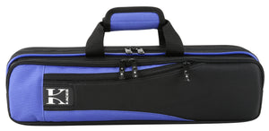 Kaces Lightweight Hardshell Flute Case, Blue