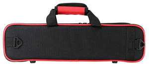 Kaces Lightweight Hardshell Flute Case, Red