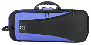 Kaces Lightweight Hardshell Trumpet Case, Blue