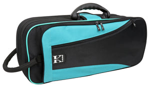 Kaces Lightweight Hardshell Trumpet Case, Teal