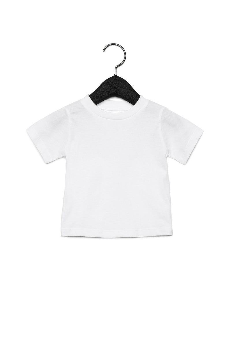 BABY JERSEY SHORT SLEEVE TEE-WHITE