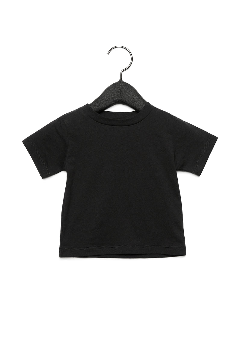 BABY TRIBLEND SHORT SLEEVE ONE PIECE-BLACK