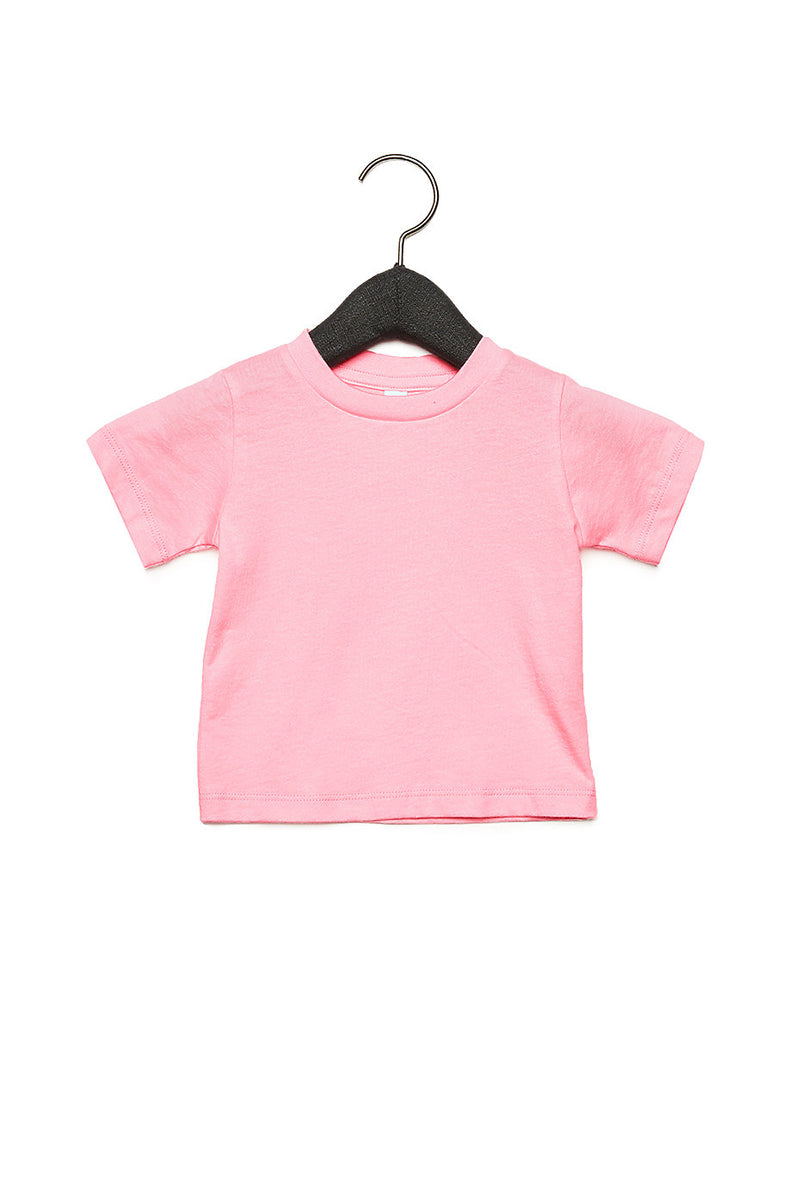 BABY JERSEY SHORT SLEEVE TEE-PINK