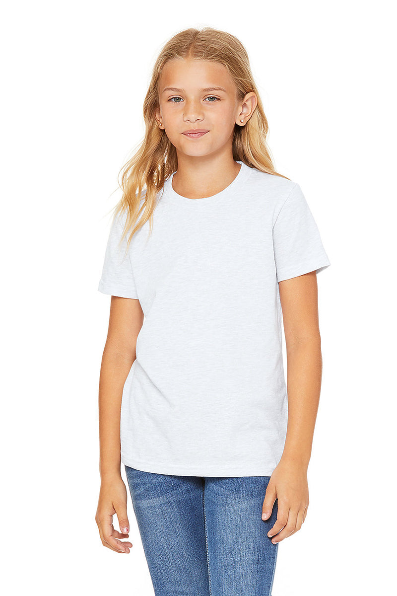 YOUTH SHORT SLEEVE TEE-ASH