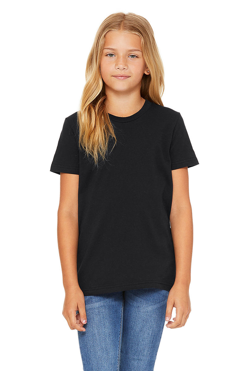 YOUTH SHORT SLEEVE TEE-VINTAGE BLACK