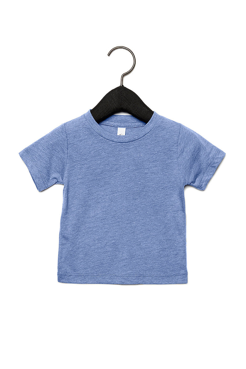 BABY TRIBLEND SHORT SLEEVE TEE-BLUE TRIBLEND