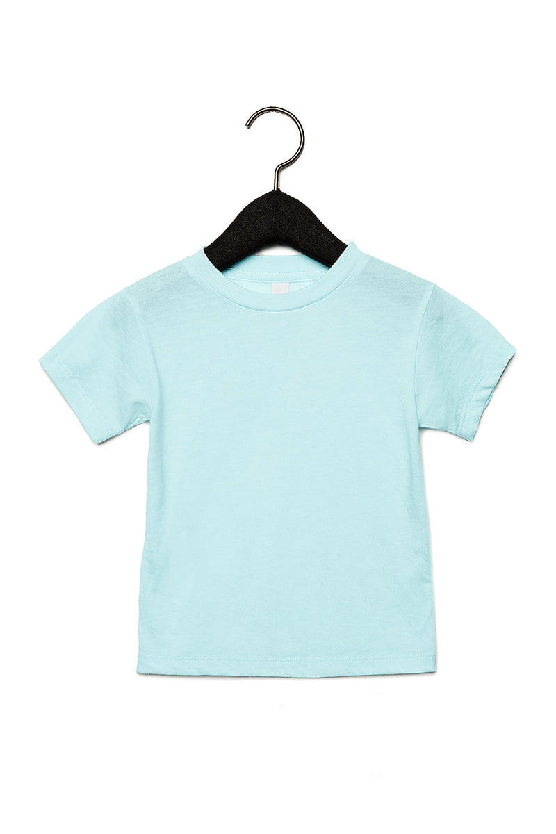 TODDLER TRIBLEND SHORT SLEEVE TEE-ICE BLUE TRIBLEND