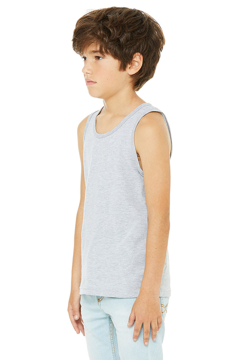 YOUTH JERSEY TANK-ATHLETIC HEATHER