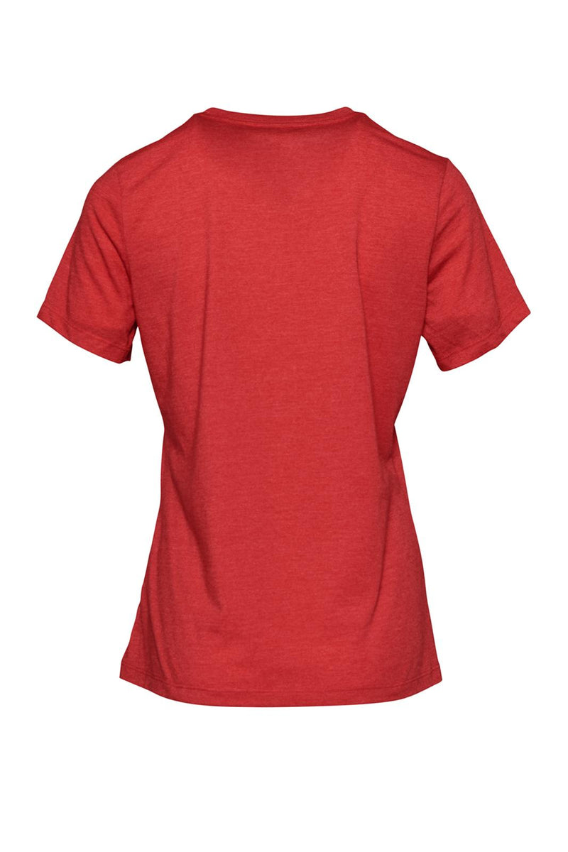 Women's Relaxed Jersey Short Sleeve Tee - Heather Red
