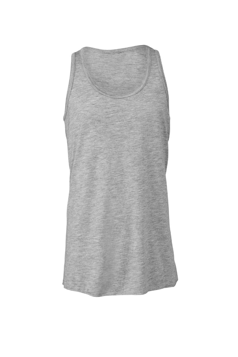 YOUTH FLOWY RACERBACK TANK-ATHLETIC HEATHER