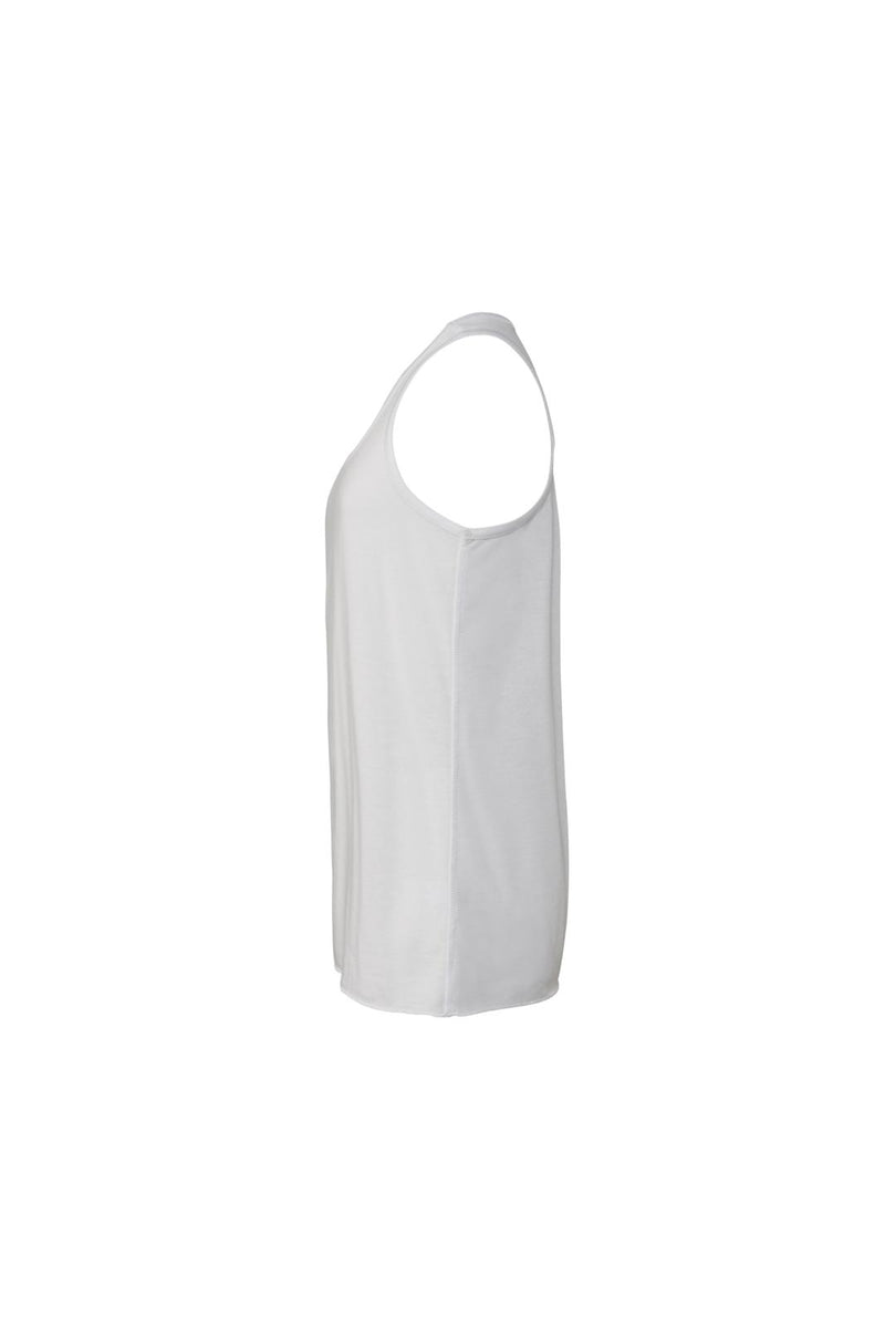 YOUTH FLOWY RACERBACK TANK-WHITE