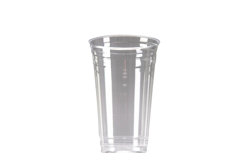 Clear Plastic Customizable Cup 24oz | 600 per Case | 5 Case MOQ