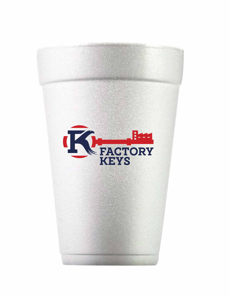 Customizable Foam Cup 20oz  | 500 per Case | 5 Case MOQ
