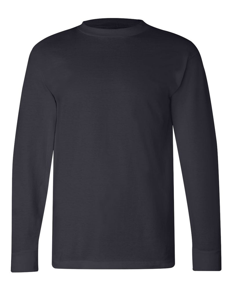 Crew Shirt Heavyweight Long Sleeve | Navy | Made In USA