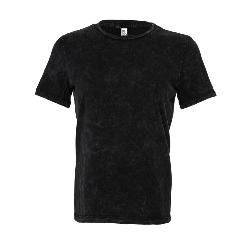 Women's Relaxed Jersey Short Sleeve Tee - Black Mineral Wash