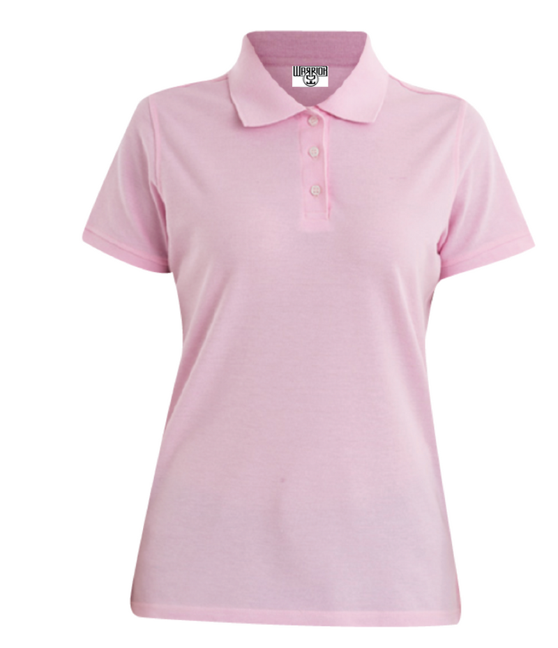 Womens Polo-Rose
