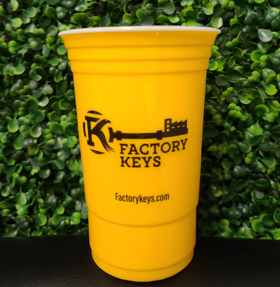 Customizable Hero Cup 16oz  | 500/Case| 1 Logo | 1 Color- Yellow
