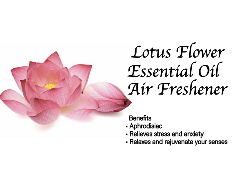 Lotus Flower Essential Oil Air Freshener 60ml (CASE OF 12)