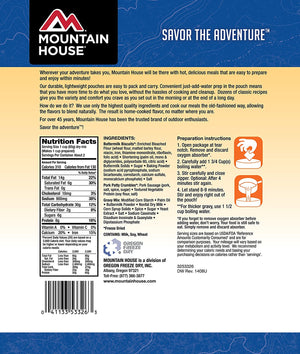 Mountain House Biscuits & Gravy - 2 Servings Per Pouch