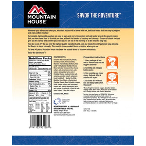 Mountain House Macaroni & Cheese - 2 Servings Per Pouch