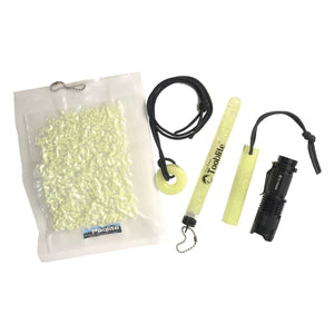 SCOUT PACK UV PAQLITE GLOW IN THE DARK KIT W/FLASHLIGHT