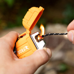 TOUGH TESLA LIGHTER - WATERPROOF & RECHARGEABLE BY FROG & CO
