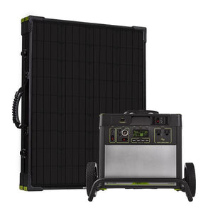 Goal Zero Yeti 3000 Lithium Power Station with WiFi + Boulder 200 Briefcase Solar Kit