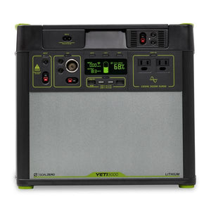 Goal Zero Yeti 3000 Lithium 110V Power Station with Wifi