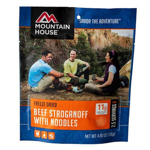 Mountain House Beef Stroganoff - 2.5 Servings Per Pouch