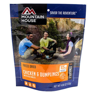 Mountain House Chicken & Dumplings - 2 Servings Per Pouch