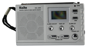 Kaito KA208 Credit Card Sized Portable Radio