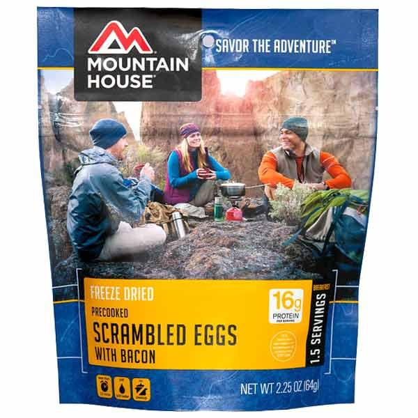 Mountain House Scrambled Eggs with Bacon - 1.5 Servings