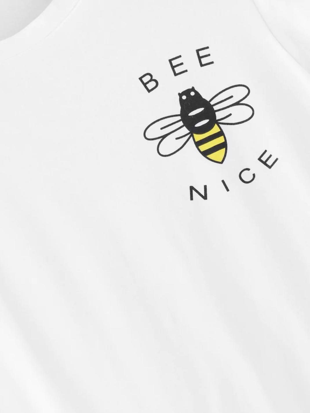 bee nice logo womens summer tee tshirt nell and pop close buzz spring summer 2019