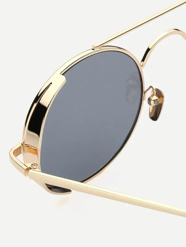 Cyclone Top-Bar Circular Round Sunglasses Men's NELL AND POP shades mens close