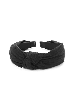 Black Knot Band Women's Accessories Nell and Pop headband top