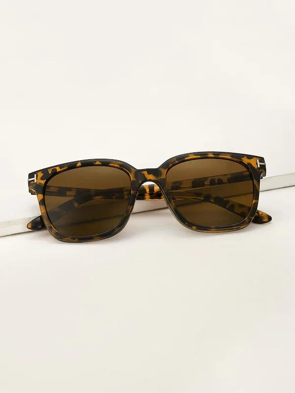 mens Tortoiseshell framed Wayfarer Nell and Pop sunglasses for men