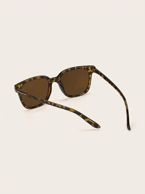 mens Tortoiseshell framed Wayfarer Nell and Pop sunglasses for men back